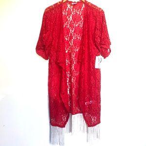 """LuLaRoe """"Monroe"""" floral kimono NWT"""